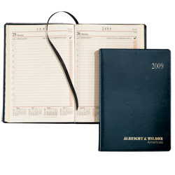 Leather Calendar Planner Covers, Weekly Pocket Planners with ...