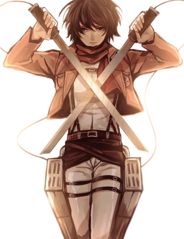 Mikasa Ackerman Hd Gambarku