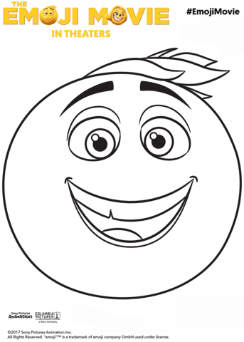 Gene Emoji Coloring Page Free Printable Coloring Pages