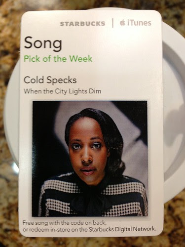 Starbucks iTunes Pick of the Week - Cold Specks - When the City Lights Dim