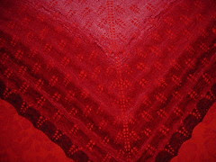 red scarf detail1