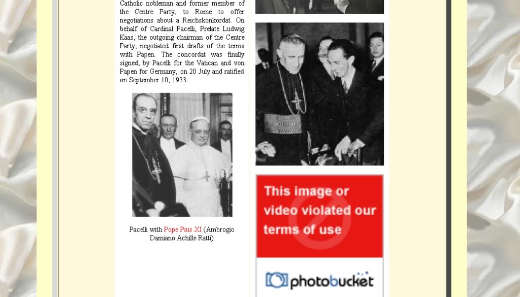 photobucket deletions censorship cover-up ww2 vatican war crimes