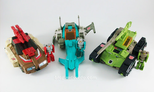 Transformers Headmasters G1 - modo alterno
