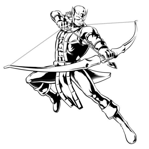 Disegni Da Colorare Di Avengers Colorare