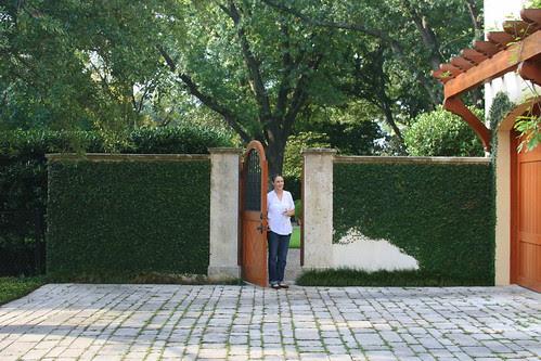 Green Garden side gate