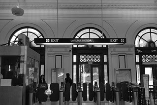 Forest Hill Station - Fare gates