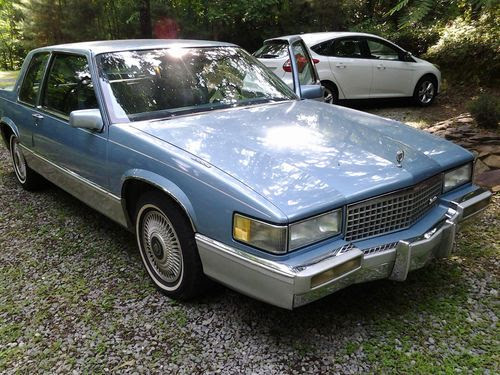 Buy used 1990 Cadillac DeVille Base Coupe 2-Door 4.5L in ...