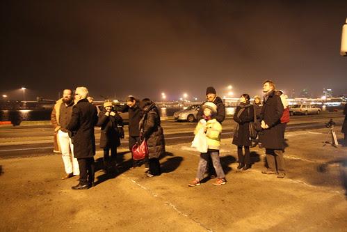 Directors arriving at Port of Tallinn