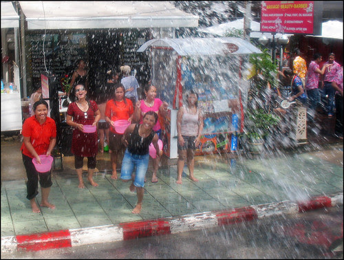 t acquit expensive electronic equipment inward the streets unless it Bangkok Map; Songkran at Patong Beach - Wet Fun!