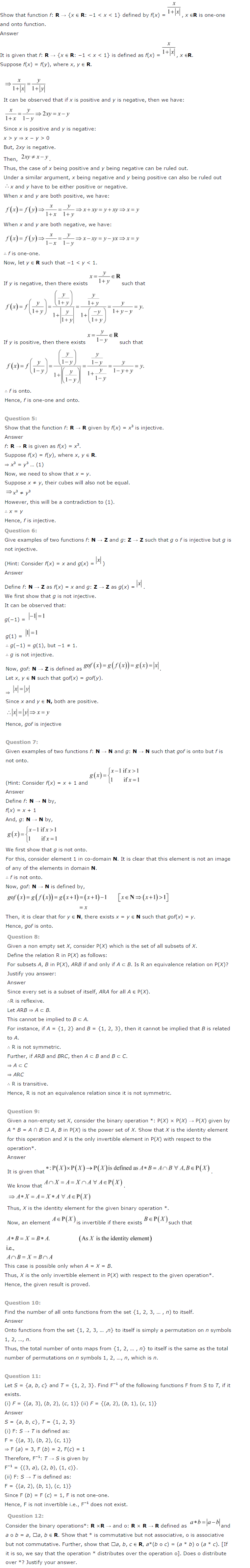 ncert solutions for class 12 maths chapter 1 pdf