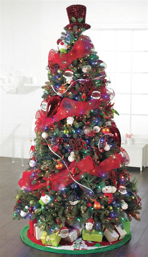 bright christmas tree decorations ideas decoration love
