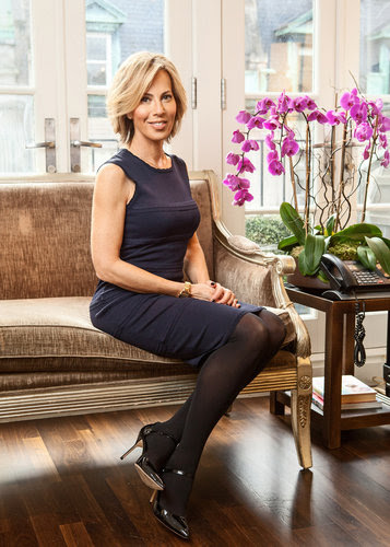 business professional wearing support hosiery