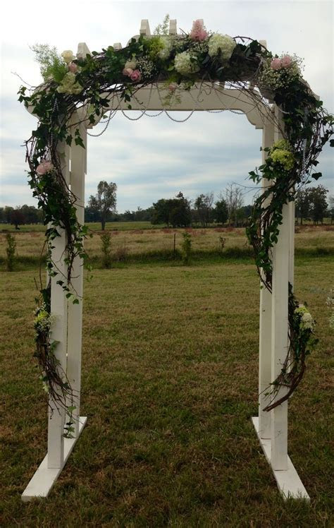 Vintage Wedding Arbor   wedding ideas   Pinterest