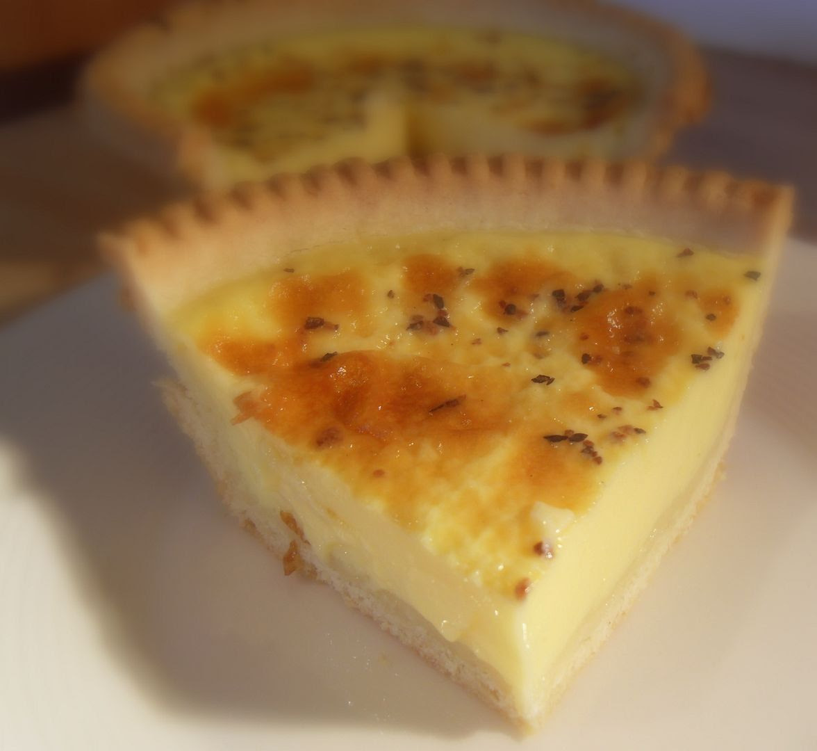 Old Fashioned English Custard Tart