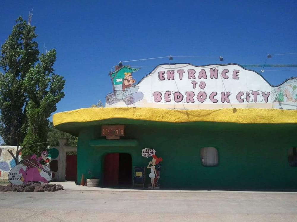 Flintstones Bedrock City - Valle, AZ, United States. Entrance