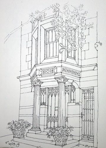 848 Carroll Street by James Anzalone