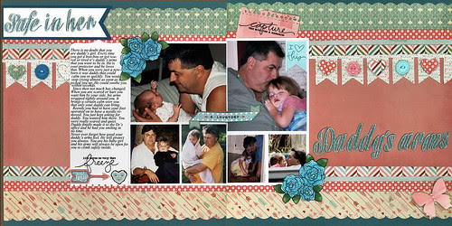 Daddy's Arms double spread