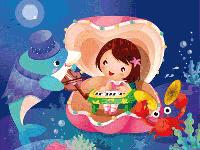 Puzzle en ligne, le fond marin