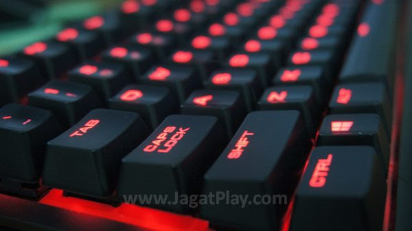 Review Corsair K63 Si Lava Yang Sangar Jagat Play