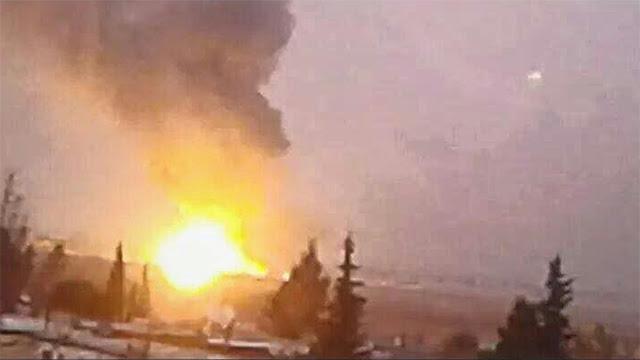 Alleged Israeli strike on Damascus installation