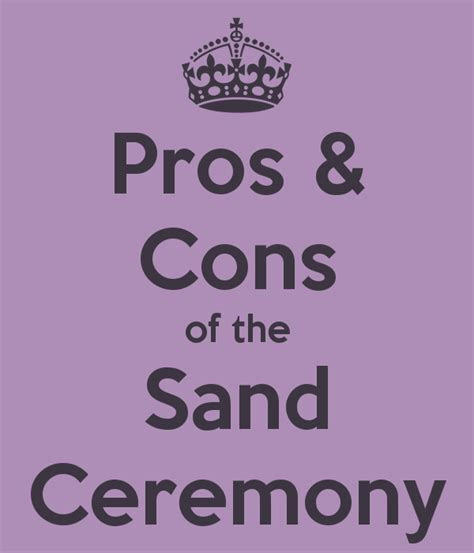 Pros and Cons of the Unity Sand Ceremony   Unity sand