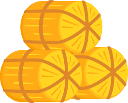 3俵の米俵の無料ベクターイラスト素材 Picaboo ピカブー 無料