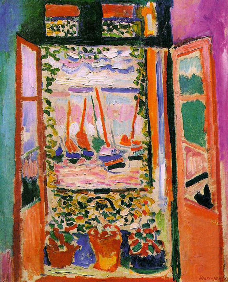Image result for collioure painting matisse open window