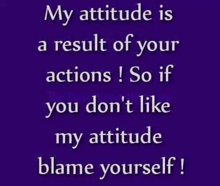 Quotes About Self Attitude 55 Quotes