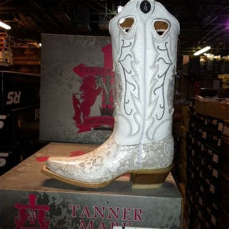 White Wedding Cowboy Boots from StandOutInTheHerd on Etsy