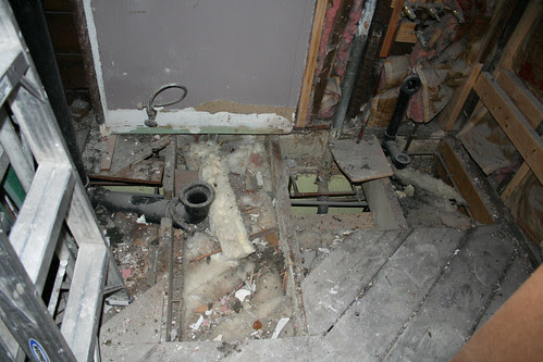 Bathroom Gutted