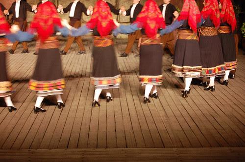 greece - athens - dora stratou dancers