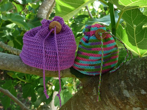 crochet purses (for coins) by Crafty Doula