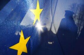 Piirivalvur Euroopa Liidu piiril