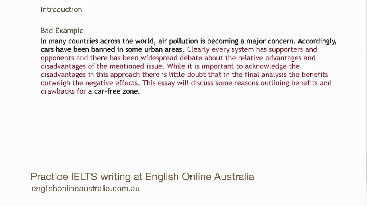 how to write an opinion essay ielts