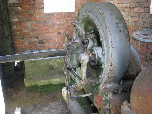 Turbina do moinho de água