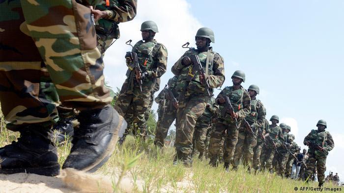 Nigeria Soldaten (AFP/Getty Images)