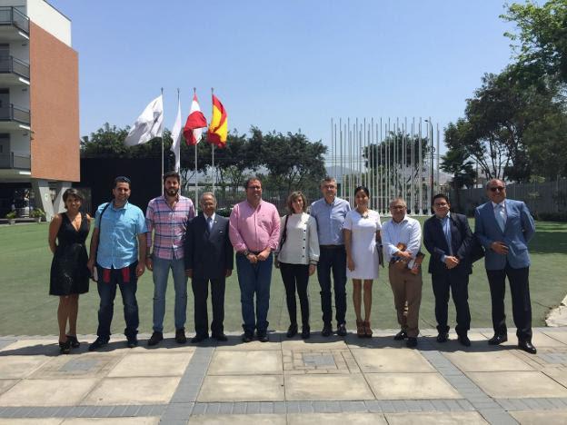 Un viaje municipal a Perú con la idea de concretar proyectos