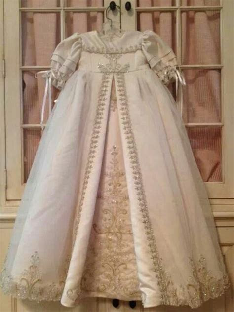 Christening gown made from wedding dress I always wanted