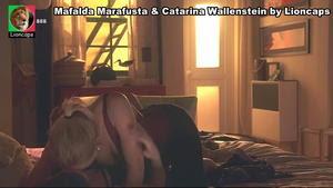 Mafalda Marafusta sensual na novela A Teia