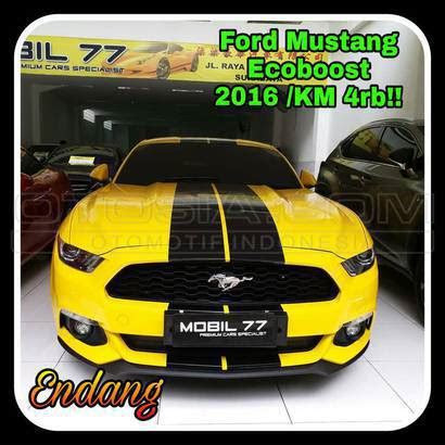 Harga Ford Mustang Ecoboost 2016