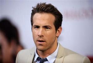 Ryan Reynolds Photo:Reuters/Phil NcCarten