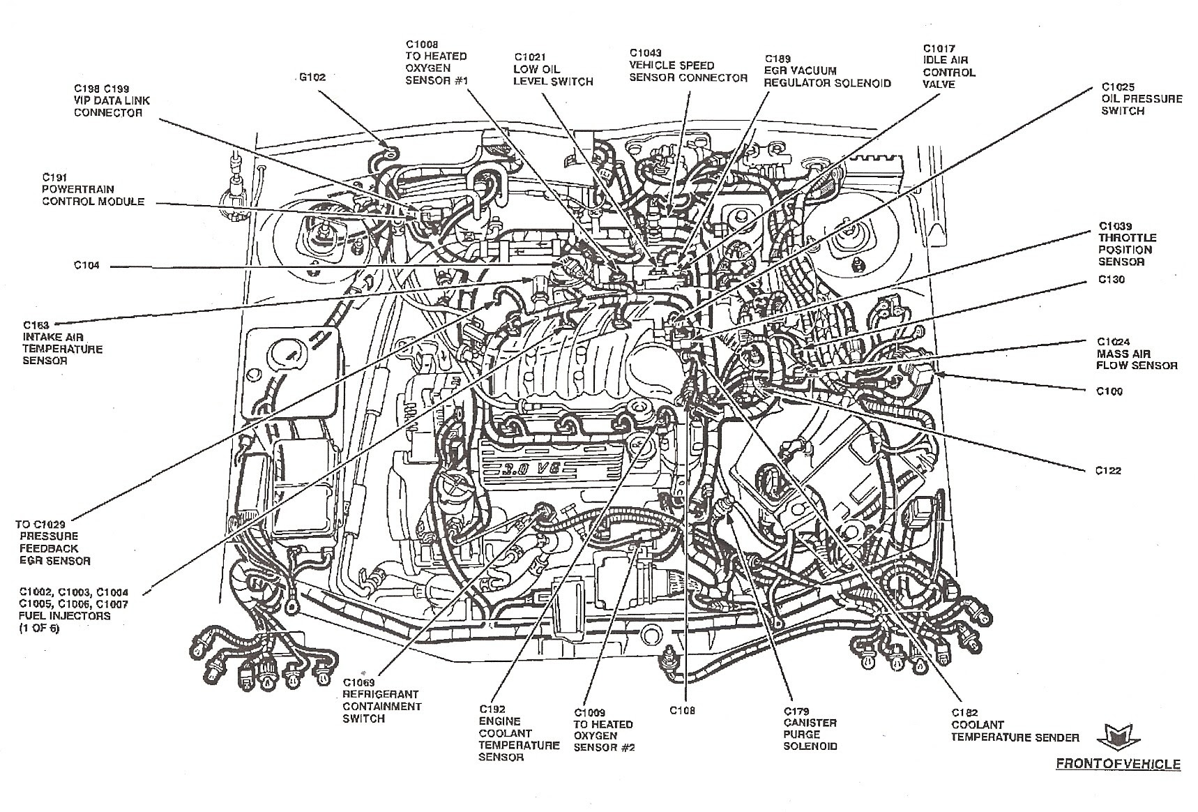 27 2001 Ford Escape Vacuum Hose Diagram