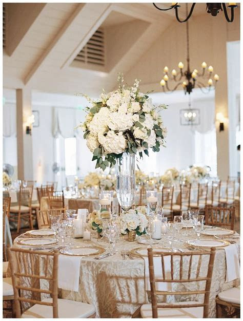 Ivory And Gold Wedding