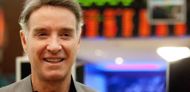 25.mai.12 - O bilionário na estreia de sua empresa de carvão, a CCX, na Bovespa
