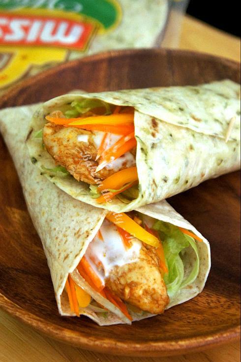 Fajita Chicken Wrap 2