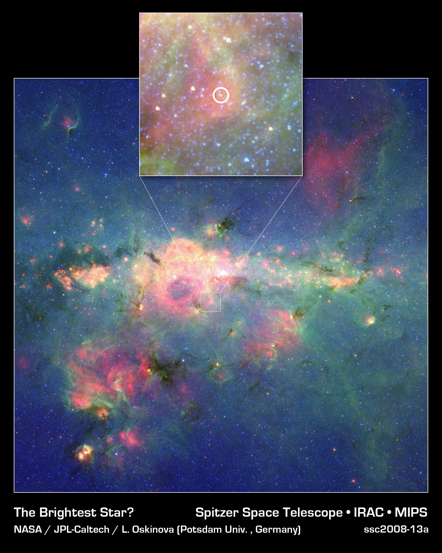 La Deuxième étoile La Plus Brillante De La Galaxie
