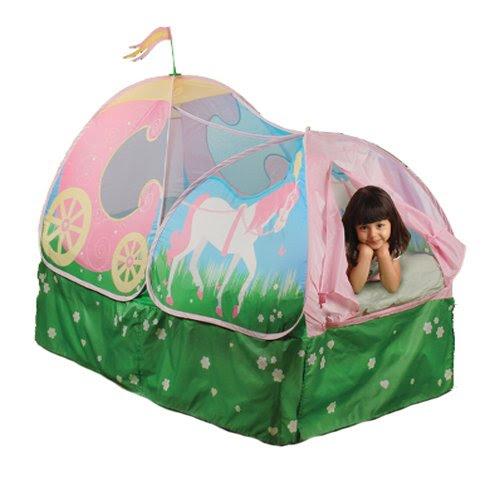 Pop Up Princess Carriage Bed Tent