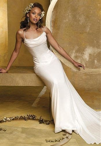 Camille La Vie & Group USA Gown features beading and cowl