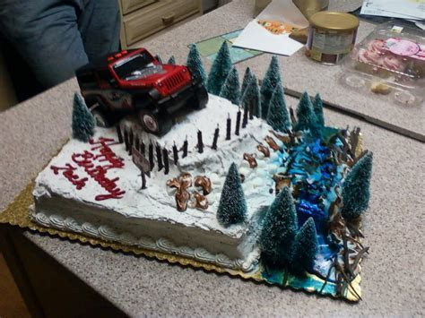 Did You Ever Have An Off Road Birthday Or Wedding Cake?