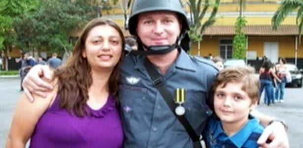 Sargento da Rota, a mulher, que também é PM, e o filho, mortos nesta segunda-feira (5)